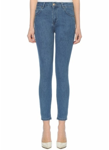 Beymen Collection Normal Bel Skinny Jean Pantolon Lacivert